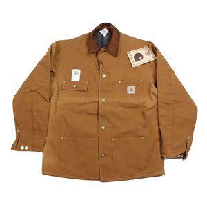 NOS Vintage Carhartt Blanket Lined Jacket 44 Tall